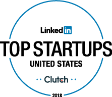 Clutch Top 50 startups United States